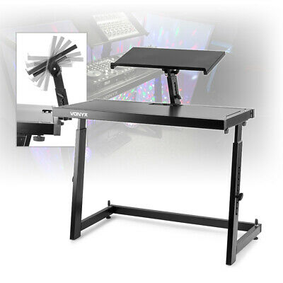 £195 • Buy Mobile DJ Deck Stand Turntable Controller Mixer Laptop Disco Equipment Table