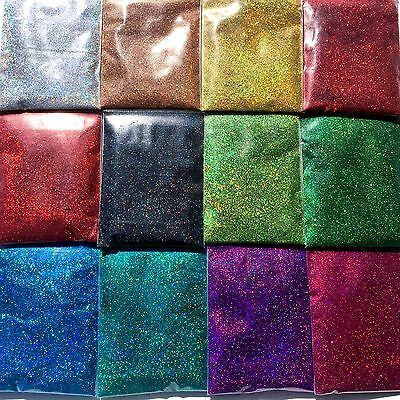AU5.99 • Buy 10g Ultra Fine Glitter Dust Powder Holographic Iridescent Body Nail Art Craft