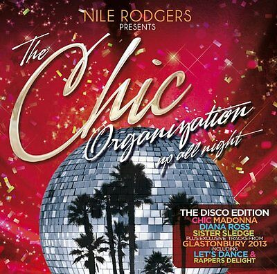 Nile Rodgers - The Chic Organisation: Up All Night/the Disco Edition 2cd Set • 4.99£