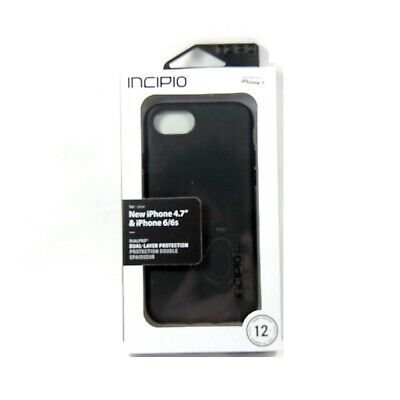 AU34.95 • Buy Incipio Case For Iphone Se 2 8 7 6 6s Dualpro 2 Layer Impact Absorb Iph-1465-blk