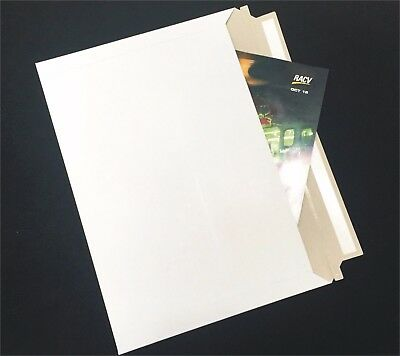 AU27.95 • Buy 50x B4 255x355mm Heavy Duty Card Mailer Envelope Bag 250gsm Cardboard Tough Bags