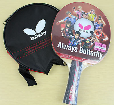 AU37.95 • Buy Butterfly TBC302 Table Tennis Racket Long Handle Ping Pong Paddle Shakehand FL