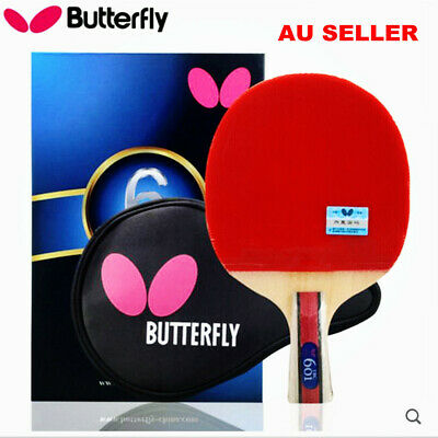 AU89.75 • Buy Butterfly 6-Star 601 Short Handle/ Penhold CS Table Tennis Ping Pong Racket Bats