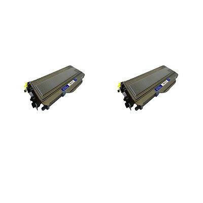 Compatible 2 Black Toner For Brother DCP-7030 DCP-7040 DCP-7045N HL-2140W TN2120 • 14.95£