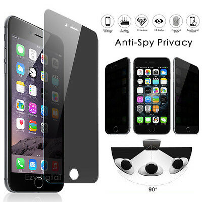 AU5.99 • Buy Anti-spy Privacy Tempered Glass Screen Protector For IPhone 12 Pro Max XS XR SE