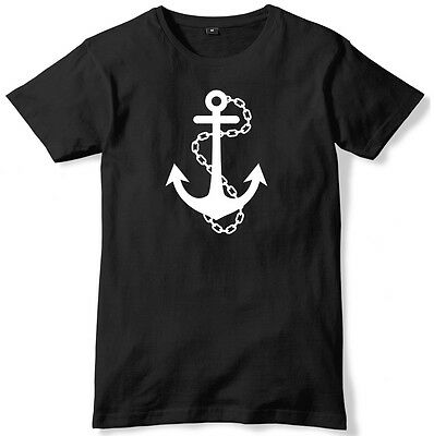 Anchor Sailor Mens Funny Unisex T-Shirt • 9.99£