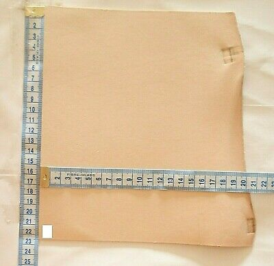 Natural Craft Leather Offcuts 2mm Thick Veg Tan Tooling Hide Small Pieces • 3.50£