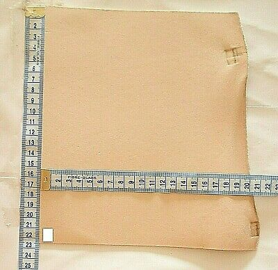 Natural Craft Leather Offcuts 2mm Thick Veg Tan Tooling Hide Small Pieces • 3.95£