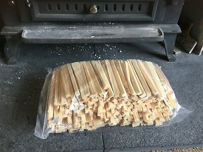 £5.85 • Buy 2KG Of Kindling Wood  Kiln Dried For Log Burners Firewood Stoves  Thinly Chopped