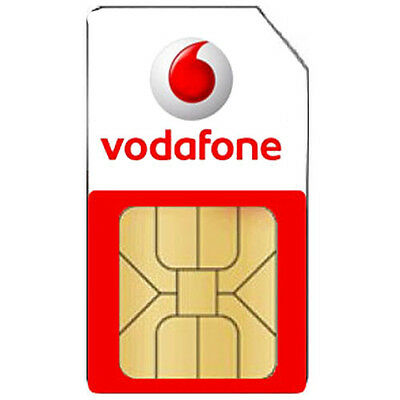 £0.99 • Buy BRAND NEW Vodafone Network Micro SIM Card - Pay As You Go For IPHONE 4S, 4