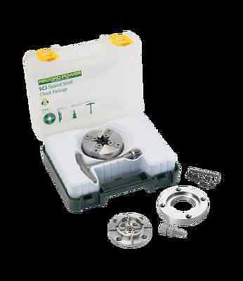 £129.95 • Buy Record Power SC3 Geared Scroll Chuck Package M33 X 3.5mm