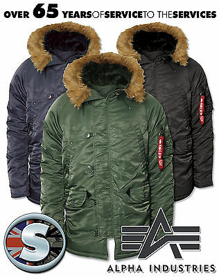 $ CDN344.74 • Buy Alpha Parka N3b Extreme Cold Weather Parka Coat, Central London Store [15004]
