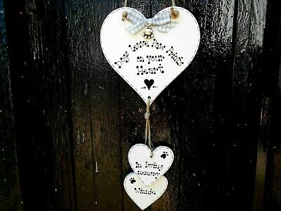 £6.99 • Buy 🐾 New Personalised Pet Dog Memorial, Pet Loss Sign, Gift/ Plaque/ Heart 🐾