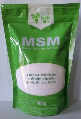 AU24.95 • Buy MSM - 99.9% Pure Quality - 400g - No Fillers Or Additives - Australia