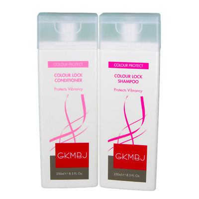 AU37.75 • Buy GKMBJ Colour Lock Shampoo & Conditioner 250ml - Cleanses - Protects Vibrancy