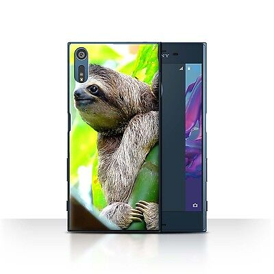 AU11.98 • Buy STUFF4 Case/Cover For Sony Xperia XZ/F8332/Wildlife Animals/Sloth