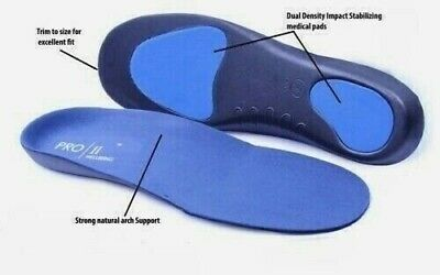 Insoles Orthotic Orthopedic Inner Soles Cushion Arch Support Pain Treatment Shoe • 9.99£