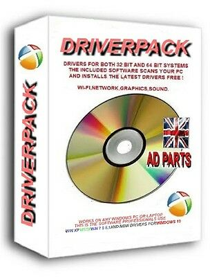 New Driverpack 2019 Pc Laptop Drivers Driver Recovery Dvd For Windows 7 8 10 • 3.49£