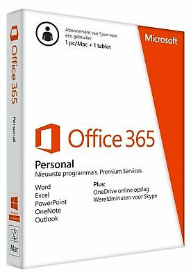 AU79 • Buy Upgrade To Microsoft Office 365 Personal