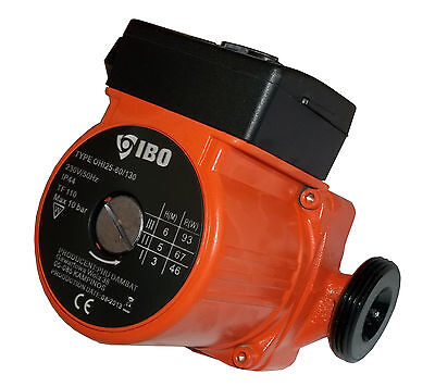 IBO OHI 25-60/130 Circulating Pump Central Heating Replaces GRUNDFOS DAB MYSON • 39£