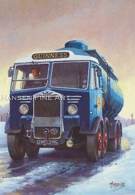 £1.85 • Buy Guinness Albion Classic Truck Lorry Driver Trucker Beer Christmas Xmas Card