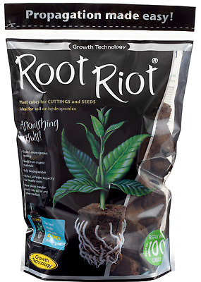 £22.04 • Buy ROOT RIOT Refill Bag 100 Loose Cubes Cuttings Seedlings Propagation