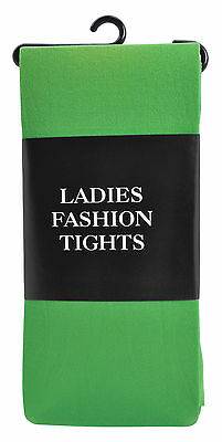 Green Ladies Tights Adult Fashion Xmas Party Elf Halloween Fancy Dress Accessory • 2.25£