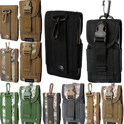 $ CDN11.14 • Buy Universal Army Camo Belt Loop Hook Pouch Case Cover Holster Bag For Mobile Phone