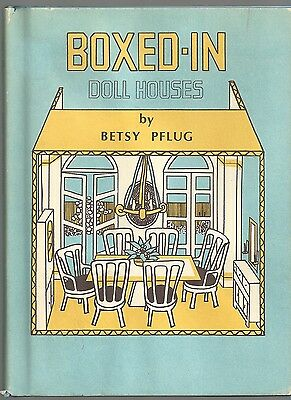 $ CDN28.34 • Buy Betsy Pflug BOXED-IN DOLL HOUSES 1971 How To Build Own
