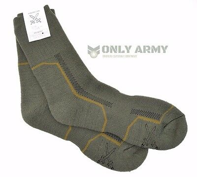 £15.40 • Buy 2 X Pairs Czech Army Cushioned Socks Thermal Long Warm Thick Military Boots Sock
