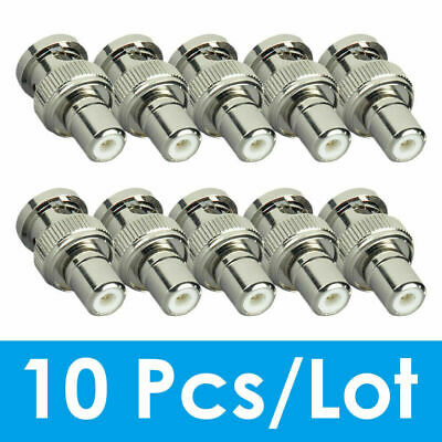 AU11.65 • Buy ZOSI 10PCS BNC Male To RCA Female COAX BNC Connector Adapter CCTV Camera System