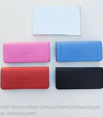 AU85 • Buy SALE! BNWT RRP$195 OROTON Leather Estate Clutch Wallet Purse Gift Box