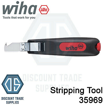 $ CDN32.73 • Buy Wiha 35969 Automatic Cable & Wire Stripper Stripping Tool Plier 4-28mm FREE P&P