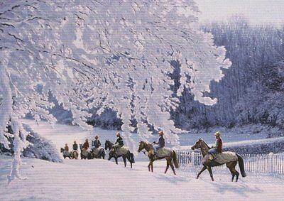£1.99 • Buy  Horse Riding Nostalgic Traditional Christmas Xmas Card