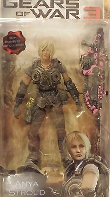 $100 • Buy NECA Gears Of War 3 Series 1 Anya Stroud Action Figure (PINK LANCER)