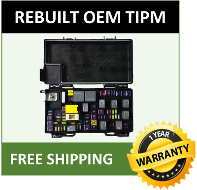 2012 jeep liberty tipm fuse and relay distribution box oem 68105502 •  319 00$