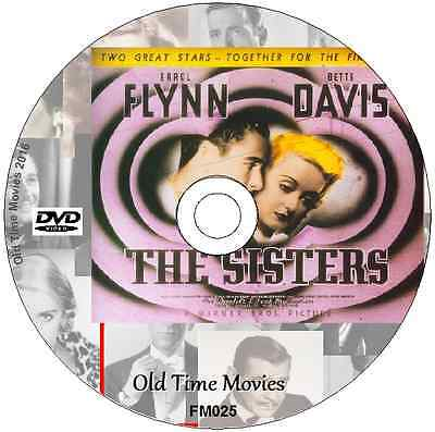 The Sisters -  Bette Davis Errol Flynn, DVD 1938 Film • 1.99£