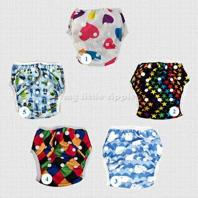 AU7 • Buy Swimming Diapers Nappy Pants For Babies Washable Adjustable