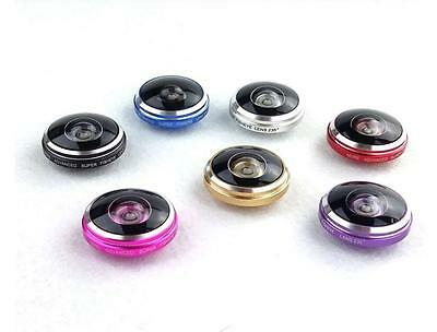 £3.20 • Buy 235° Clip Super Fisheye Lens Camera For IPhone LG HTC SAMSUNG Smart Cell Phone