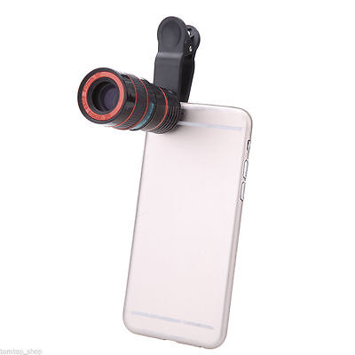 £6.50 • Buy Optical Camera Lens 8x Zoom Telephoto Suitable For Iphone Samsung Smart Phone