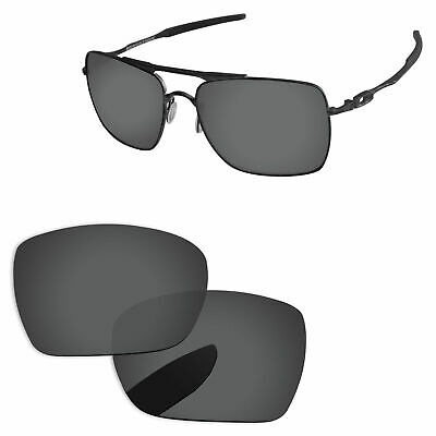 £18.15 • Buy PapaViva Black & Silver Polarized Replacement Lenses For-Oakley Deviation OO4061