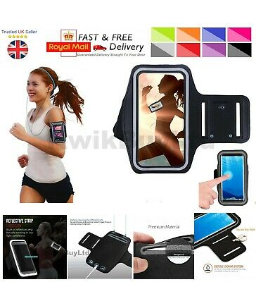 Sports Gym Running Jogging Cycling Yoga Exercise Armband Case For IPhone Phones • 3.99£