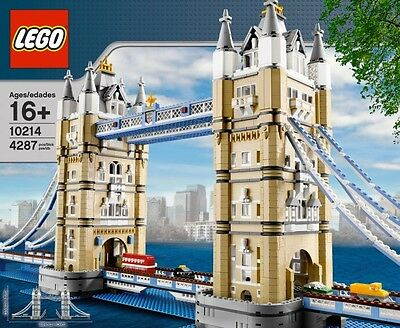 Lego London Tower Bridge 10214 Creator  *brand New, Sealed* Free Shipping • 250.33£