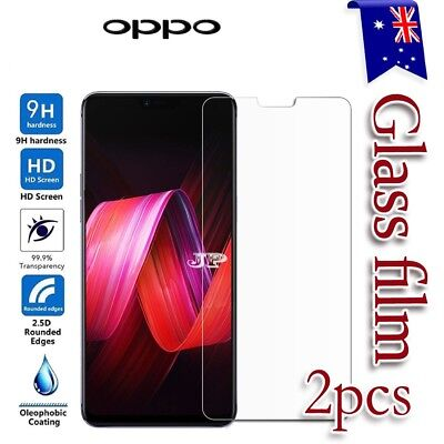 AU4.49 • Buy 2x For Oppo Reno2 Z A57 A73 R9S Plus R15 R17 Pro Tempered Glass Screen Protector