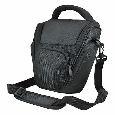 Camera Shoulder Bag Case For Nikon Nikon Coolpix P900 (Black) • 11.60£