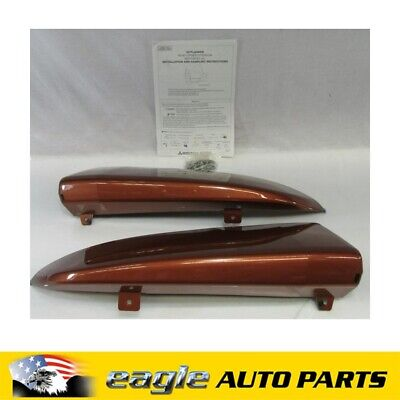AU125 • Buy Mitsubishi Zj Outlander Es 2wd Rear Bumper Bar Air Dam Kit 2012 - 2014