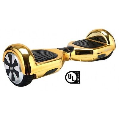 $ CDN399 • Buy 2 Wheel Electric Motorized Scooter Bluetooth GOLD Lamborghini Hoover Board