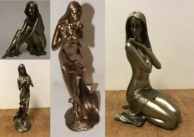 £22.99 • Buy Modern Bronze Nude Lady Figurines Statues By Leonardo Collection Brand New