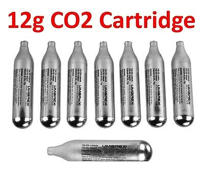 Nuprol 12g Capsules CO2 Powerlet Cartridge Gas Air Riffle Pistol Gun C02 Capsule • 7.99£