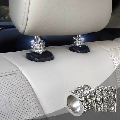 $11.99 • Buy Bling Car Decor® Crystal Car Seat Headrest Collar Charm Rhinestone Car Accessory